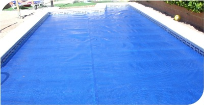 Manta termica cobertor solar para piscinas piscinas for Cobertor solar piscina